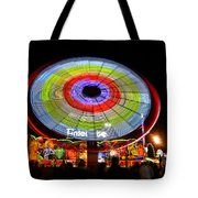 Enterprise On The Midway Tote Bag by David Lee Thompson