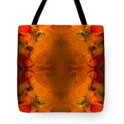Entertaining Energy Abstract Pattern Artwork By Omaste Witkowski Tote Bag