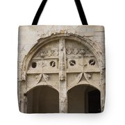 Entrance Fontevraud Abbey- France Tote Bag