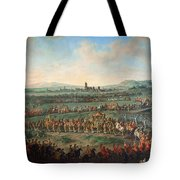 Entrance Of The Emperor Franz I Stephan And His Son Joseph II Into Frankfurt Tote Bag