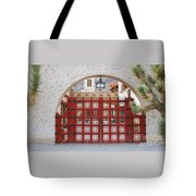 Entrance To Court Yard Tote Bag