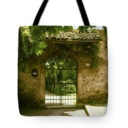 Entrance To Romeo And Juliet House Tote Bag