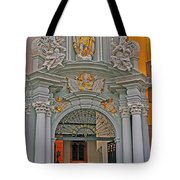 Entrance To St Gangolf Tote Bag