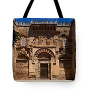 Entrance To The 10th Century Mezquita Tote Bag