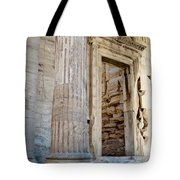 Entrance To The Temple Of The Athena Nike Tote Bag