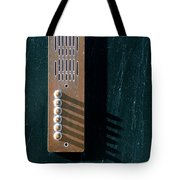 Entry Phone 1 Tote Bag