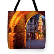 Entry To Riquewihr Tote Bag by Brian Jannsen