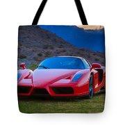 Enzo Ferrari Bold Tote Bag