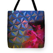Epcot Centre Abstract Tote Bag