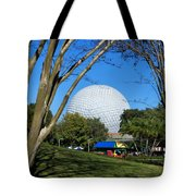 Epcot Globe Walt Disney World Tote Bag