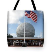 Epcot Usa Tote Bag