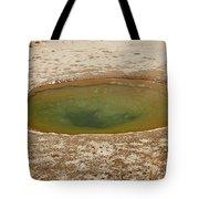 Ephedra Spring In West Thumb Geyser Basin Tote Bag