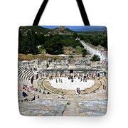 Theater Of Ephesus Tote Bag