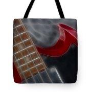 Epiphone Sg Bass-9205-fractal Tote Bag