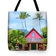 Episcopal Church In Kapaa Tote Bag