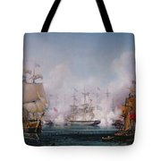 Episode Of The Battle Of Navarino Tote Bag