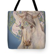 Epona The Great Mare Tote Bag