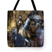 Equestrian Armour Tote Bag