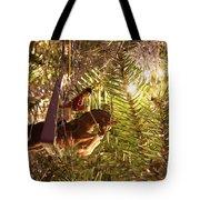 Equestrian Ornament Tote Bag