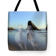 Equine Beach II Tote Bag