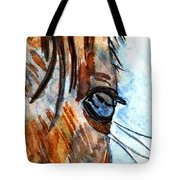 Equine Reflection Tote Bag