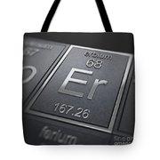 Erbium Chemical Element Tote Bag