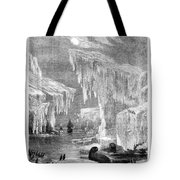 Erebus And Terror In The Ice 1866 Tote Bag