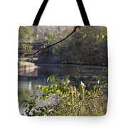 Erie Canal At Bushnell Basin Tote Bag