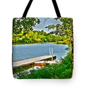 Erie Canal Dockage Tote Bag