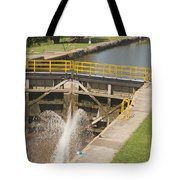 Erie Canal Lock Tote Bag