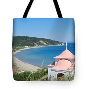Erikousa Beach Tote Bag