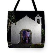 Ermita San Telmo. Puerto De La Cruz By Night Tote Bag