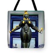 Ernst Fuchs Museum Nude Statue Tote Bag