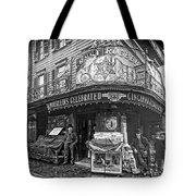 Ernst Roebers Saloon - Manhattan - 1908 Tote Bag by Daniel Hagerman