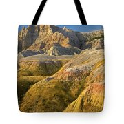 Eroded Buttes Badlands National Park Tote Bag