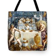 Eros And Psyche Tote Bag