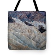 Erosional Landscape - Zabriskie Point Tote Bag
