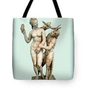 Aphrodite, Pan And Eros Tote Bag