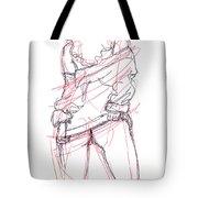 Erotic Art Drawings 6 Tote Bag