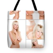 Erotic Beauty Collage 17 Tote Bag