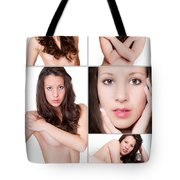 Erotic Beauty Collage 19 Tote Bag