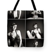 Erotic Beauty Collage 24 Tote Bag