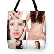 Erotic Beauty Collage 27 Tote Bag