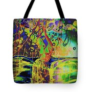 Erotic Devoted To To Dance And Music Tote Bag