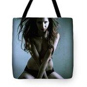 Erotic Portrait Tote Bag