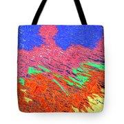 Erupting Lava Meets The Sea Tote Bag by Joseph Baril