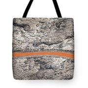 Eruption Residue Tote Bag