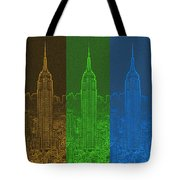 Esb Spectrum Tote Bag