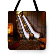 Escalator In The Brown Palace Tote Bag