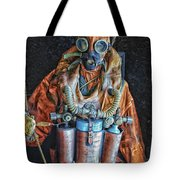 Escape Suit Russian Submarine Sailor Tote Bag